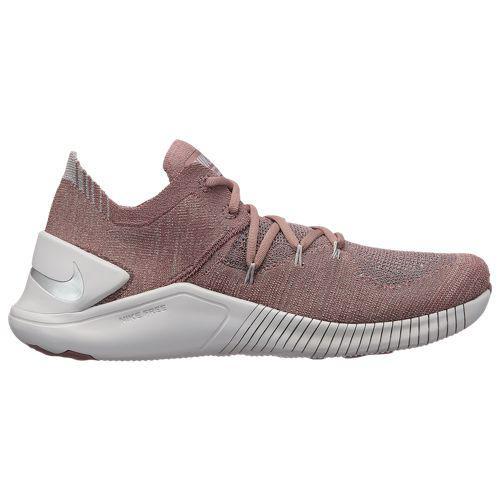 (取寄)ナイキ レディース フリー TR フライニット 3 Nike Women's Free TR Flyknit 3 Smokey Mauve Metallic Silver Vast Grey
