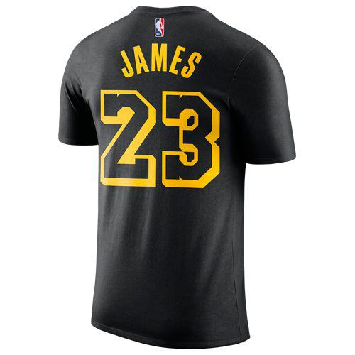 4823d839969 (order) Nike men NBA name and number T-shirt Los Angeles Lakers Revlon  James Nike Men's NBA Name and Number T-Shirt Los Angeles Lakers Lebron  James Black