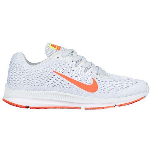 (取寄)ナイキ レディース ズーム ウィンフロー 5 Nike Women's Zoom Winflo 5 Pure Platinum Bright Crimson White Wolf Grey Volt