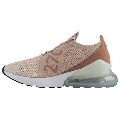 factory authentic 92aa1 80635 (order) Nike Lady's Air Max 270 fried food knit Nike Women's Air Max 270  Flyknit Guava Ice Particle Beige Desert Dust White