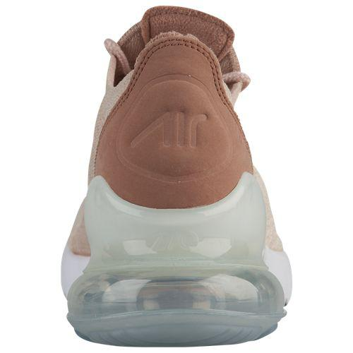 (order) Nike Lady s Air Max 270 fried food knit Nike Women s Air Max 270  Flyknit Guava Ice Particle Beige Desert Dust White 10493cdb2