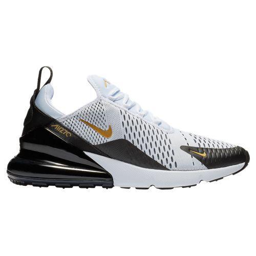 (取寄)ナイキ メンズ エア マックス 270 Nike Men's Air Max 270 White Metallic Gold Black