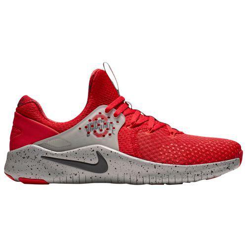 (取寄)ナイキ メンズ NCAA フリー トレーナー V8 オハイオ ステイト バックアイズ Nike Men's NCAA Free Trainer V8 オハイオ ステイト バックアイズ University Red Black Pewter Grey
