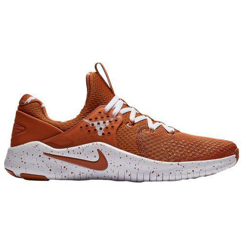 (取寄)ナイキ メンズ NCAA フリー トレーナー V8 テキサス ロングホーン Nike Men's NCAA Free Trainer V8 テキサス ロングホーン Desert Orange White Pure Platinum