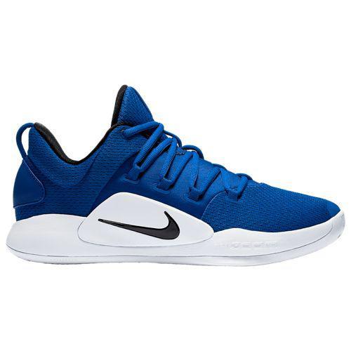 (取寄)ナイキ メンズ バッシュ ハイパーダンク 2018 ロー バスケットボールシューズ Nike Men's Hyperdunk 2018 Low Game Royal Black White