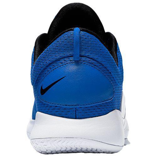 59987790e5d3 (order) Nike men basketball shoes hyper dunk 2018 low basketball shoes Nike  Men s Hyperdunk 2018 Low Game Royal Black White