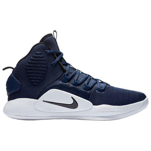 (取寄)ナイキ メンズ バッシュ ハイパーダンク 2018 ミッド バスケットボールシューズ Nike Men's Hyperdunk 2018 Mid Midnight Navy Black White