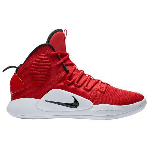 (取寄)ナイキ メンズ バッシュ ハイパーダンク 2018 ミッド バスケットボールシューズ Nike Men's Hyperdunk 2018 Mid University Red Black White