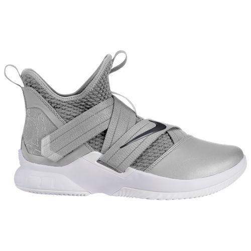 (取寄)ナイキ メンズ レブロン ソルジャー 12 レブロン ジェームズ Nike Men's LeBron Soldier XII Lebron James Wolf Grey Black White