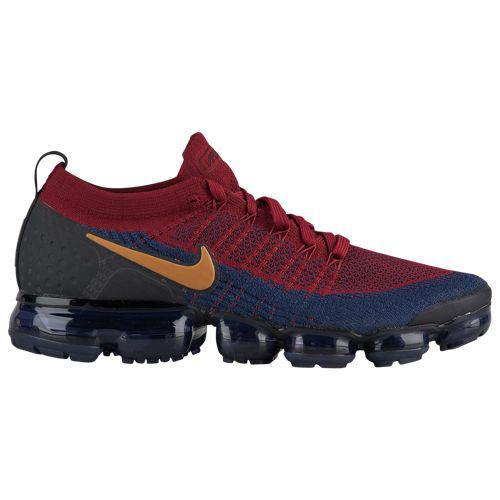 (取寄)ナイキ メンズ エア ヴェイパーマックス フライニット 2 Nike Men's Air Vapormax Flyknit 2 Team Red Wheat Obsidian Black College Navy