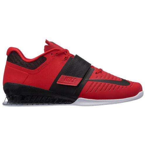 (取寄)ナイキ メンズ ロマレオス 3 Nike Men's Romaleos 3 University Red Black White