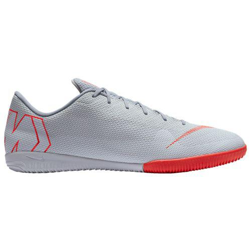 (取寄)ナイキ メンズ マーキュリアル ヴェイパー X 12 アカデミー ic Nike Men's Mercurial VaporX 12 Academy IC Wolf Grey Bright Crimson Pure Platinum