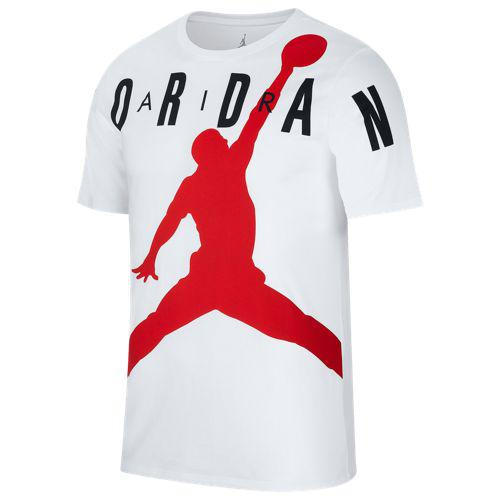 e50e8a28d68cb5 (order) Jordan men jump man air HBR T-shirt Jordan Men s Jumpman Air HBR T- Shirt White Gym Red