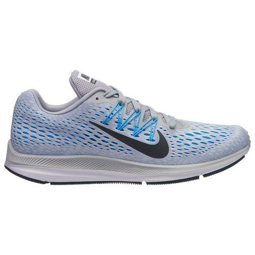 (取寄)ナイキ メンズ ズーム ウィンフロー 5 Nike Men's Zoom Winflo 5 Wolf Grey Anthracite Pure Platinum Blue Hero White