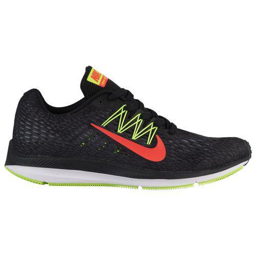 (取寄)ナイキ メンズ ズーム ウィンフロー 5 Nike Men's Zoom Winflo 5 Black Bright Crimson Volt Anthracite Cool Grey