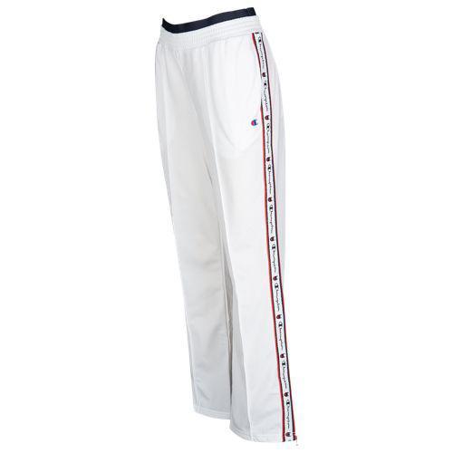 (取寄)チャンピオン レディース テープド トラック パンツ Champion Women's Taped Track Pants White