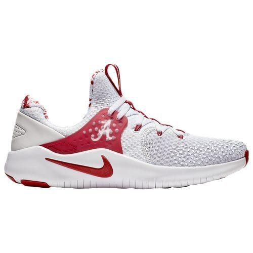 watch 25320 7f75d (order) Nike men NCAA-free trainer V8 Alabama Crimson Tide Nike Men s NCAA  Free Trainer V8 Alabama Crimson Tide Pure Platinum Team Crimson White