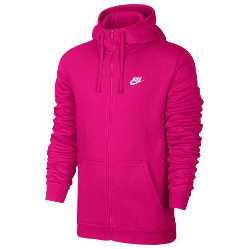 (取寄)ナイキ メンズ クラブ フル ジップ フリース フーディ Nike Men's Club Full Zip Fleece Hoodie Watermelon Watermelon White