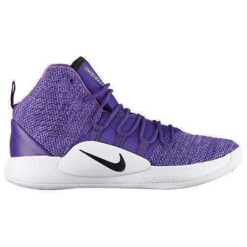 (取寄)ナイキ メンズ ハイパーダンク 10 ミッド Nike Men's Hyperdunk X Mid Court Purple Black White
