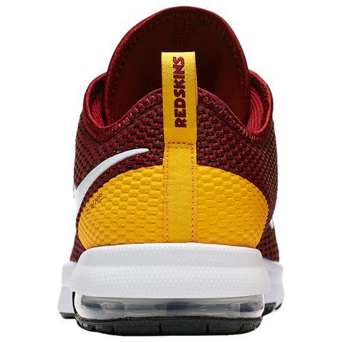 fbcd2554c5c575 (order) Nike men NFL Air Max Thailand F 2 Washington Redskins Nike Men s  NFL Air Max Typha 2 Washington Redskins Team Red White University Gold