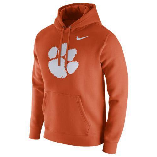 (取寄)ナイキ メンズ カレッジ チーム クラブ フーディ クレムソン タイガース Nike Men's College Team Club Hoodie クレムソン タイガース Orange