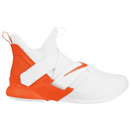(取寄)ナイキ メンズ レブロン ソルジャー 12 レブロン ジェームズ Nike Men's LeBron Soldier XII Lebron James White Brilliant Orange
