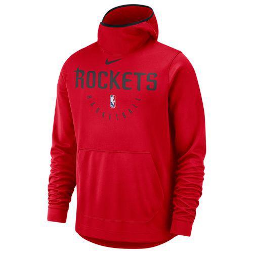 (取寄)ナイキ メンズ NBA スポットライト プルオーバー フーディ ヒューストン ロケッツ Nike Men's NBA Spotlight Pullover Hoodie ヒューストン ロケッツ University Red Black
