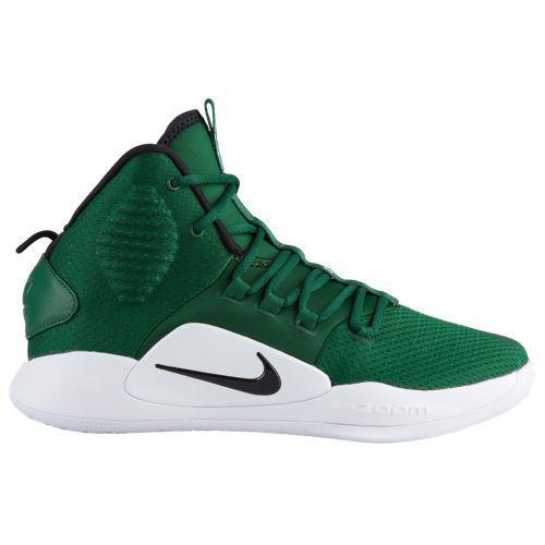 (取寄)ナイキ メンズ ハイパーダンク 10 ミッド Nike Men's Hyperdunk X Mid Gorge Green Black White