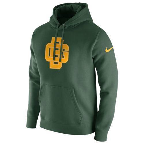 (取寄)ナイキ メンズ NFL プルオーバー フリース クラブ フーディ グリーン ベイ パッカーズ Nike Men's NFL Pullover Fleece Club Hoodie グリーン ベイ パッカーズ Fir