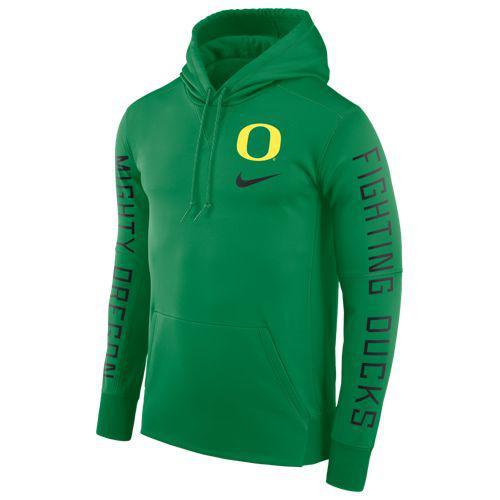 (取寄)ナイキ メンズ カレッジ サイドライン サーマ シズミック PO フーディ オレゴン ダックス Nike Men's College Sideline Therma Seismic PO Hoodie オレゴン ダックス Apple Green