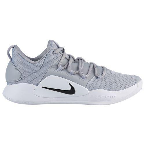 (取寄)ナイキ メンズ ハイパーダンク 10 ロー Nike Men's Hyperdunk X Low Wolf Grey Black White