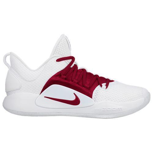 (取寄)ナイキ メンズ ハイパーダンク 10 ロー Nike Men's Hyperdunk X Low White Team Red