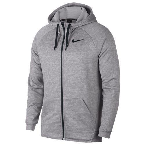 (取寄)ナイキ メンズ ライトウェイト フルジップ フリース フーディ Nike Men's Lightweight Full-Zip Fleece Hoodie Atmosphere Grey Gunsmoke Black