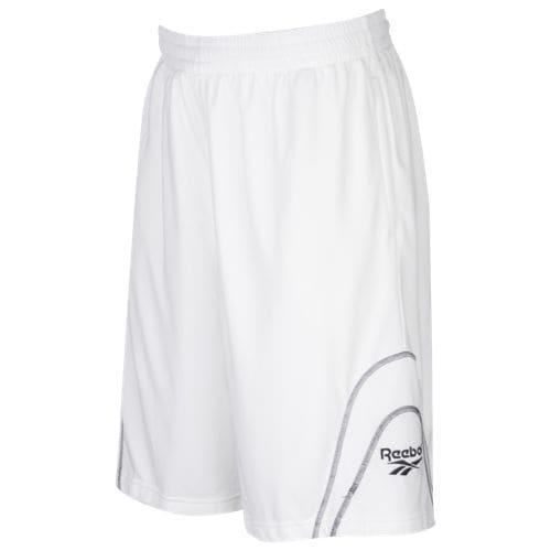 (取寄)リーボック メンズ ハッシュ BB ショーツ Reebok Men's Hush BB Shorts White Black