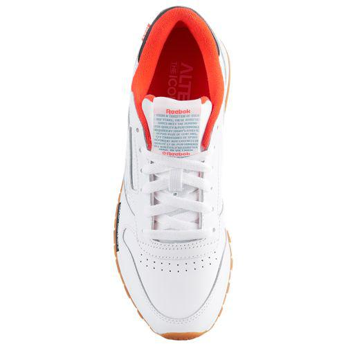 ac5cef9353a (order) リーボックレディースクラシックレザーオルタード Reebok Women s Classic Leather Altered  White Black Neon Red Mineral Mist Snowy Grey