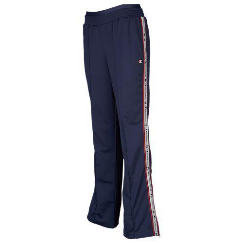 (取寄)チャンピオン レディース テープド トラック パンツ Champion Women's Taped Track Pants Imperial Indigo