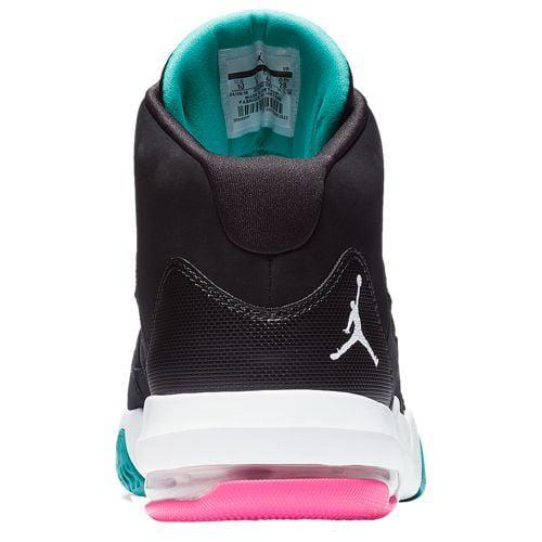 eecccf2acb6c (order) Jordan men max aura Jordan Men s Max Aura Black White Hyper Pink  Turbo Green