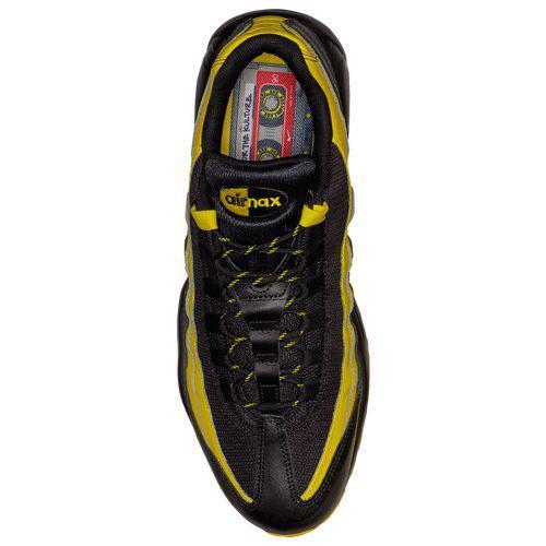 fc0c7ecd7b3 (order) Nike men Air Max 95 Nike Men s Air Max 95 Black Black Tour Yellow  White