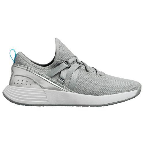 (取寄)アンダーアーマー レディース ブリーズ トレーナー Underarmour Women's Breathe Trainer Overcast Gray Metallic Silver
