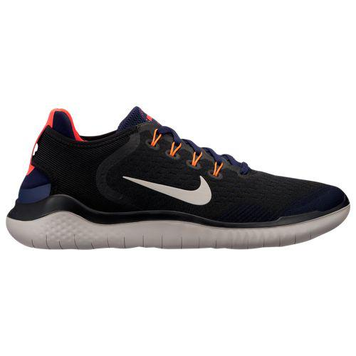 (取寄)ナイキ メンズ フリー RN 2018 Nike Men's Free RN 2018 Black Moon Particle Blackened Blue Flash Crimson