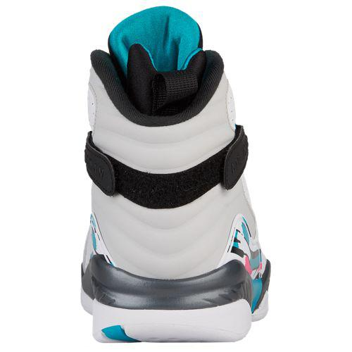 new product 8a65c c0bde (order) Jordan men gap fatty tuna 8 Jordan Men's Retro 8 White White Turbo  Green Hyper Pink