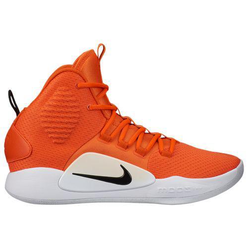 (取寄)ナイキ メンズ ハイパーダンク 10 ミッド Nike Men's Hyperdunk X Mid Brilliant Orange Black White