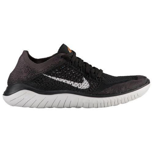 (取寄)ナイキ レディース フリー RN フライニット 2018 Nike Women's Free RN Flyknit 2018 Black Vast Grey Mtlc Gold Thunder Grey