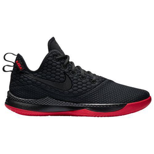 (取寄)ナイキ メンズ レブロン ウィットネス 3 レブロン ジェームズ Nike Men's LeBron Witness 3 Lebron James Black University Red