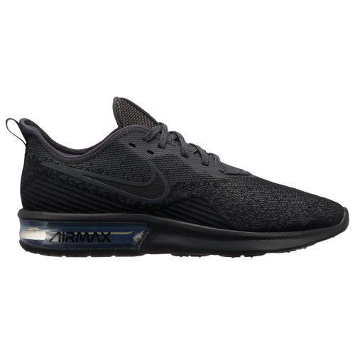 (取寄)ナイキ メンズ エア マックス シークエント 4 Nike Men's Air Max Sequent 4 Black Black Anthracite Anthracite