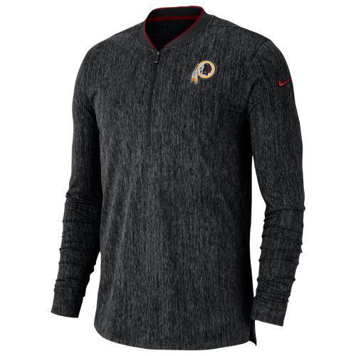 (取寄)ナイキ メンズ NFL コーチ サイドライン 1/2 ジップ トップ ワシントン レッドスキンズ Nike Men's NFL Coaches Sideline 1/2 Zip Top ワシントン レッドスキンズ Black