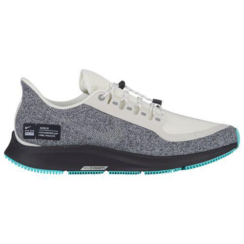 (取寄)ナイキ レディース エア ズーム ペガサス 35 シールド Nike Women's Air Zoom Pegasus 35 Shield Summit White Mtlc Silver Oil Grey Aurora Green