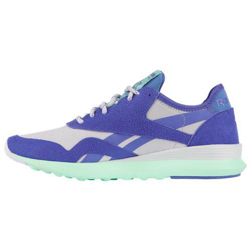 c277dd1db6b (order) Reebok Lady s classical music nylon SP Reebok Women s Classic Nylon  SP Spirit White White Ultimate Purple