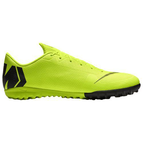(取寄)ナイキ メンズ マーキュリアル ヴェイパー X 12 アカデミー tr Nike Men's Mercurial VaporX 12 Academy TF Volt Black