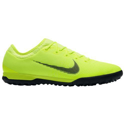 (取寄)ナイキ メンズ マーキュリアル ヴェイパー X 12 プロ tr Nike Men's Mercurial VaporX 12 Pro TF Volt Black